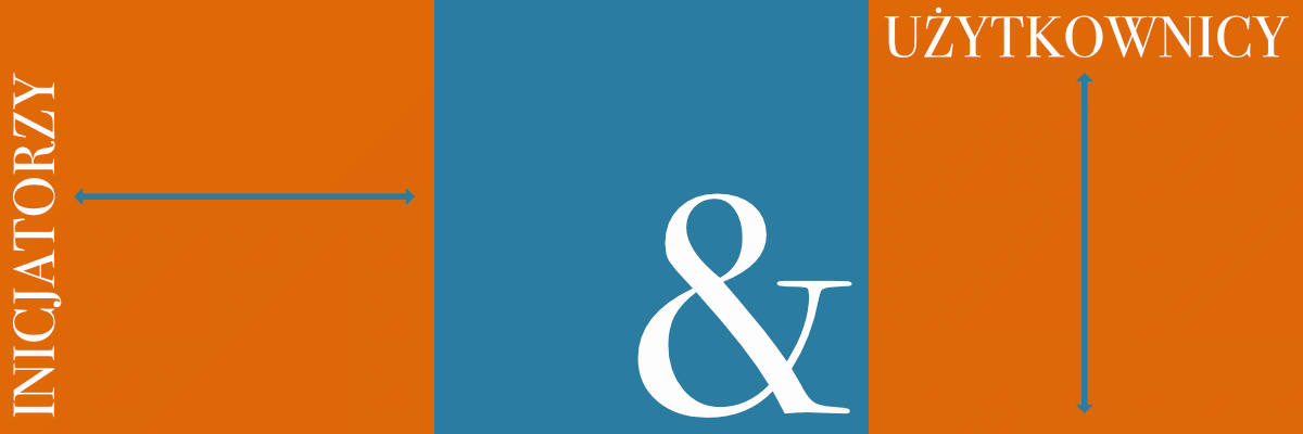 Inicjatorzy i użytkownicy baner
